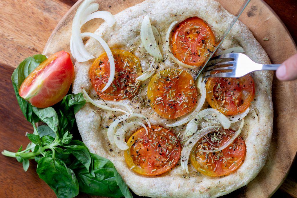 Amami vegan pizza bali vegan cookbook recipe restaurant guide