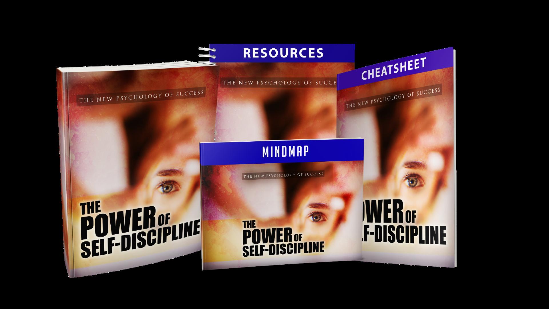 power of self discipline kit